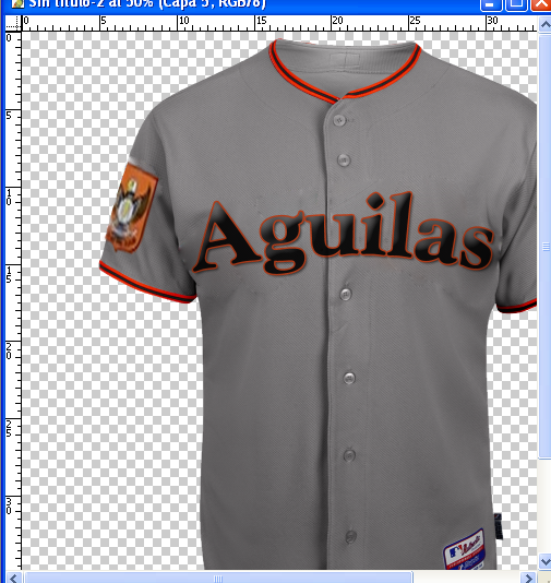 Camisa de Águilas del Zulia. Test2-29f1120