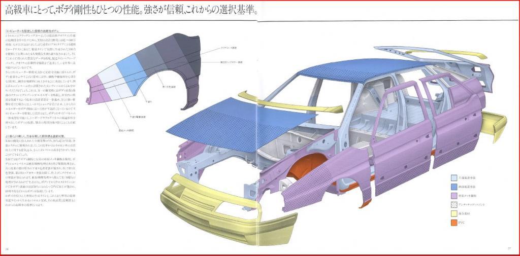 Ctalogue Japonnais de la Citroën XM (N°1) Xm-j18-2bc5317