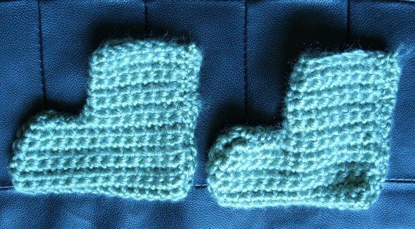 Le crochet, un passe temps E-et-cie-chausson-1964-30ad235